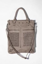 Studded tote in grey by 7 Chi at Urban Outfitters at Urban Outfitters