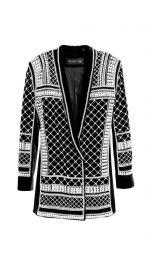 Studded velvet dress at H&M