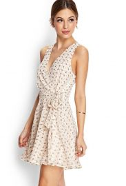 Subtle Floral Wrap Dress at Forever 21