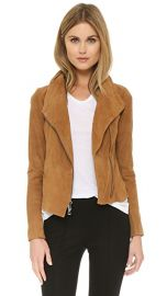 Suede Scuba Jacket at Shopbop