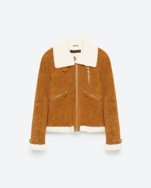 Suede Jacket at Zara