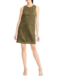 Suede Shift Dress Adrianna Papell at Lord & Taylor