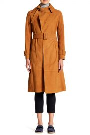 Suede Trench Coat at Nordstrom Rack