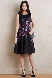 Sugared Rose Neoprene Dress at Anthropologie