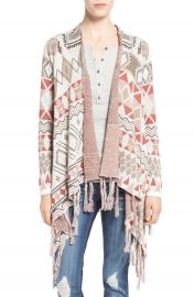 Sun and Shadow Blanket Cardigan at Nordstrom