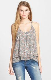 Sun andamp Shadow Double Layer Halter Top at Nordstrom