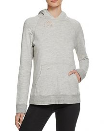 Sundry Distressed Pullover Hoodie at Bloomingdales