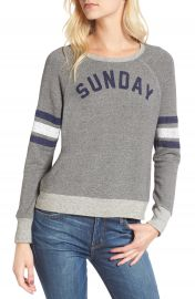 Sundry Sunday Funday Sweatshirt  Nordstrom Exclusive at Nordstrom