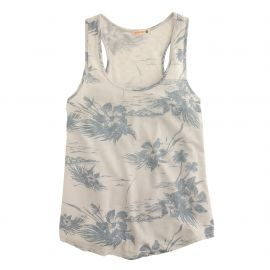 Sundryandtrade floral tank top in Blue Floral at J. Crew