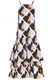 Suno Sleeveless Geo Printed Dress at Bysymphony