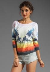 Sunset beach pullover by Chaser at Revolve