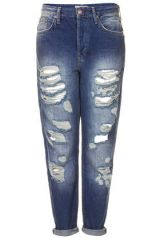 Super Ripped Hayden Boyfriend Jeans at Topshop
