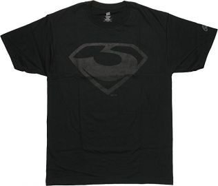 Superman Man of Steel Zod Logo T-Shirt at Amazon