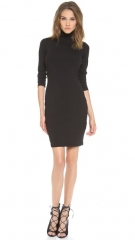 Susana Monaco Cat Turtleneck Dress at Shopbop