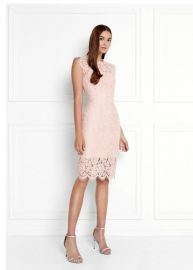 Suzette Lace Mini Dress at Rachel Zoe