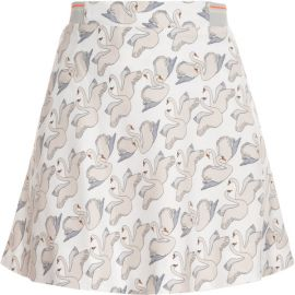 Swan print skirt at Paul & Joe