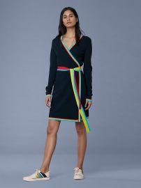 Sweater Wrap Dress at Diane von Furstenberg
