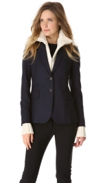 Sweater jacket by Veronica Beard at Shopbop