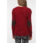 Sweater with elbow patches from Urban Outfitters at Urban Outfitters