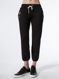 Sweats with eyelets by Monrow at Carbon 38