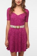 Sweetheart Lace Dress by Pins and Needles at Urban Outfitters