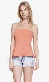 Sweetheart Tube Top at Express