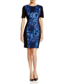 T Tahari Allison Printed Dress at Bloomingdales
