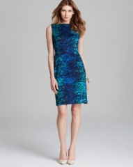 T Tahari Skyler Sahara Print Sleeveless Dress at Bloomingdales