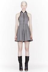 T by Alexander Wang Bonded Neoprene Dress at SSENSE