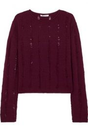 T by Alexander Wang Fine Knit Sweater at The Outnet