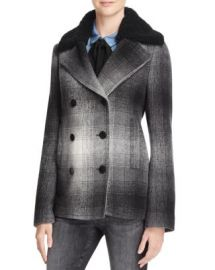 T by Alexander Wang Plaid Coat - 100  Exclusive at Bloomingdales