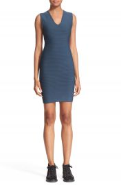 T by Alexander Wang Ribbed Body-Con Dress at Nordstrom