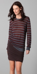 T by Alexander Wang Striped Long Sleeve Tee at Shopbop