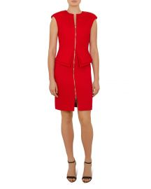 TED BAKER KWYLI TAILORED PEPLUM DRESS at Bloomingdales