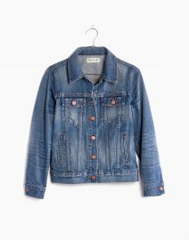 THE JEAN JACKET IN PINTER WASH at Madewell