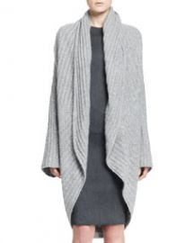 THE ROW Ilia Ribbed Cocoon Cardigan at Neiman Marcus