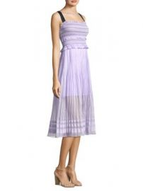 THREE FLOOR - Smocked Midi Dress at Saks Fifth Avenue