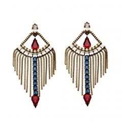 TLV Earrings in Red at Lionette NY
