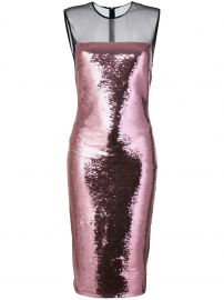 TOM FORD SEQUIN MIDI DRESS - at Farfetch