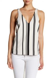 TOPSHOP   Stripe Hardware Crisscross Camisole   Nordstrom Rack at Nordstrom Rack