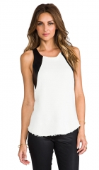 TOWNSEN Storm Thermal Tank in White and Black  REVOLVE at Revolve