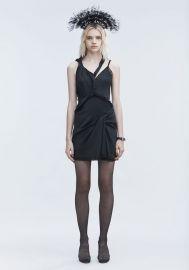 TWISTED SLIP DRESS at Alexander Wang