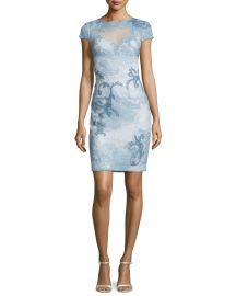 Tadashi Shoji Acanthus Dress at Neiman Marcus