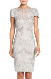 Tadashi Shoji Lace Sheath Dress at Nordstrom