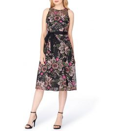d1449a9d26b WornOnTV  Kathie s black floral embroidered dress on Today