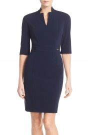 Tahari  Bi-Stretch Sheath Dress  Regular   Petite at Nordstrom