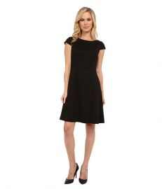 Tahari by ASL Petite Petite Patty Dress Black at 6pm