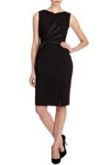 Tailored dress with cutouts at Karen Millen