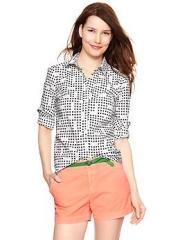 Tailored print shirt at Gap
