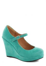 Take the Podium Wedge at ModCloth
